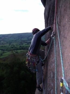 Climbing Roaches Traverse