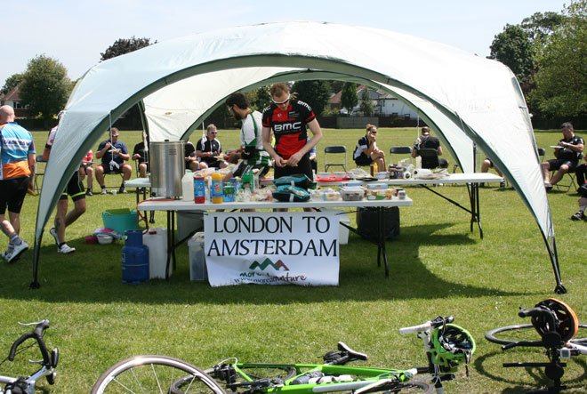 London to Amsterdam Cycle