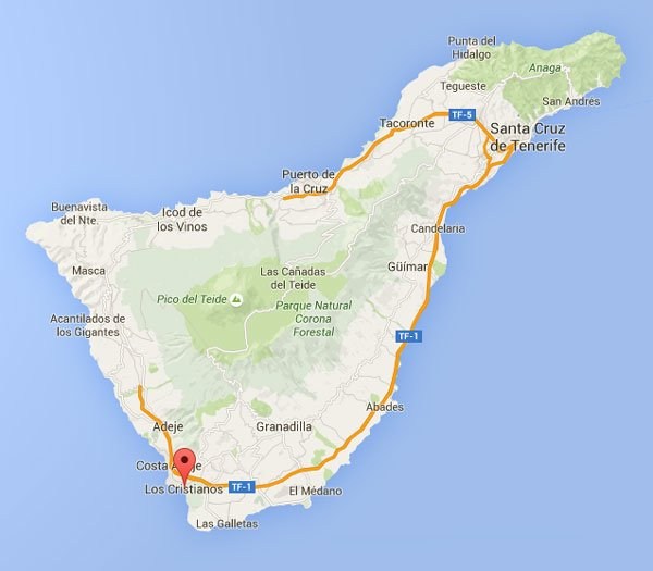 cycling-in-tenerife-teide-map