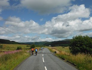 Lands End to John O'Groats Cycle – Camping