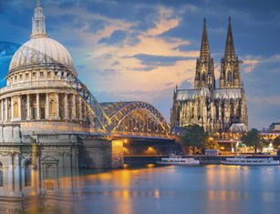 London to Cologne (Cathedral to Cathedral) Thumbnail Image
