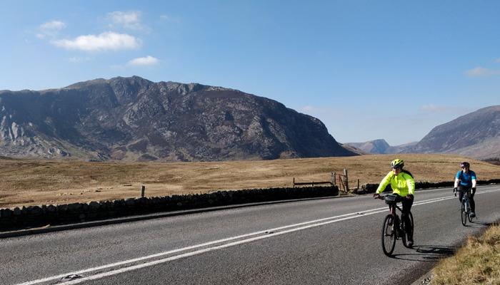 snowdonia cycling weekend